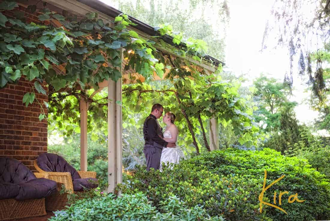 Wedding location shots at Athol Garden reception