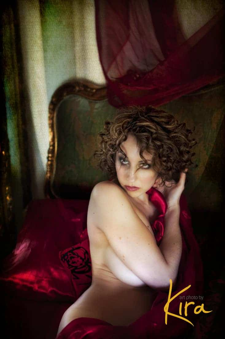 Boudoir and Glamour Vintage photography session