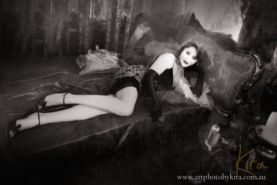 vintage glamour photography