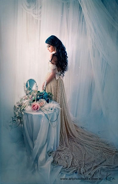 portrait photography creative glamour photo