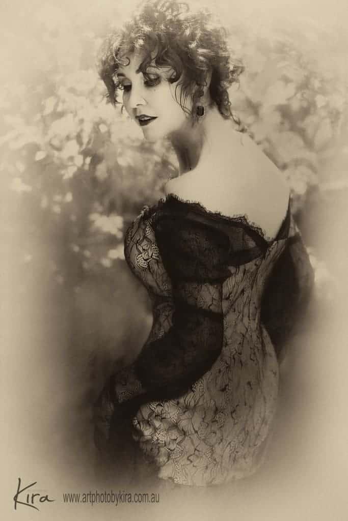 vintage portrait photography glamour