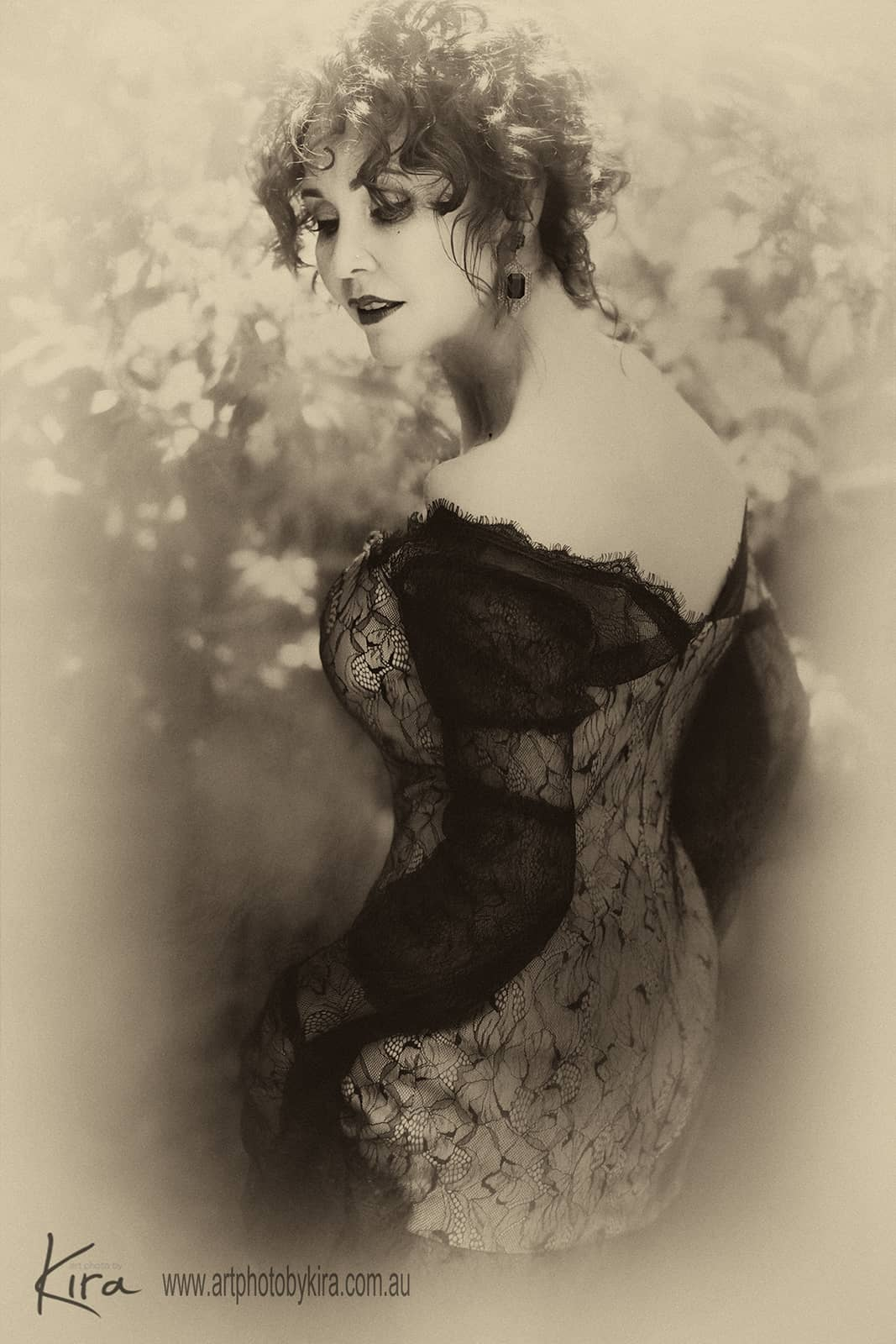 vintage portrait photography glamour