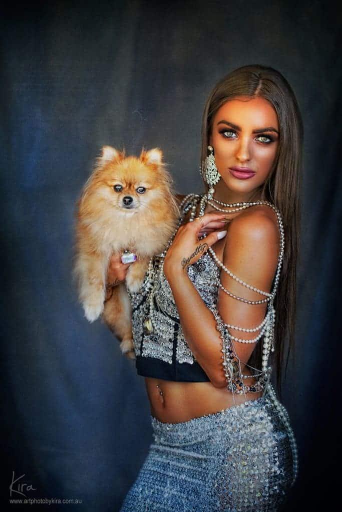 glamour shots wth dog