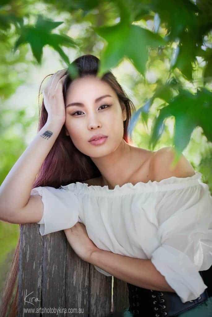 miss mongolia tuyamaa glamour photography