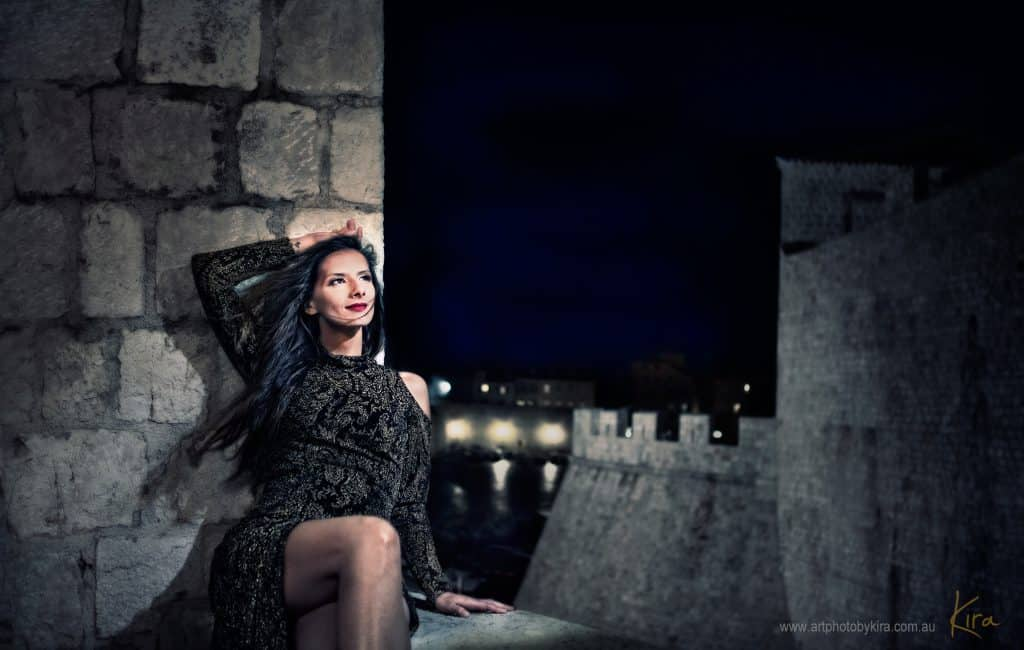 glamour photography dubrovnik