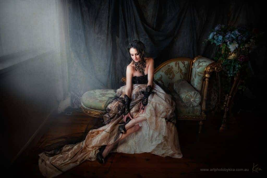 old masters glamour photography