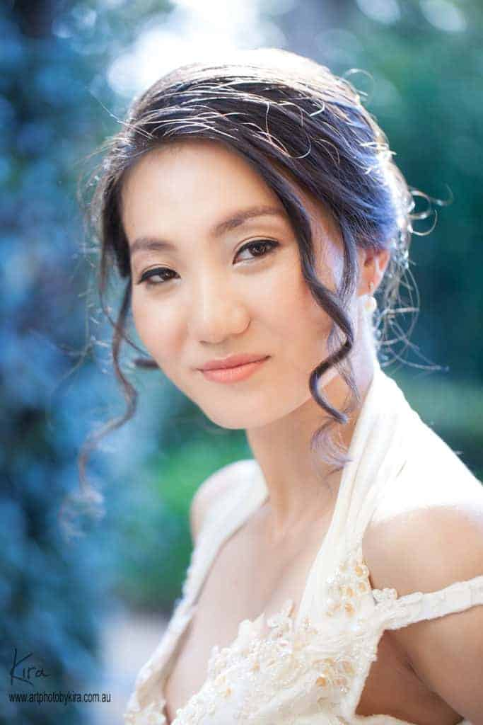 portrait photographer bridal photos
