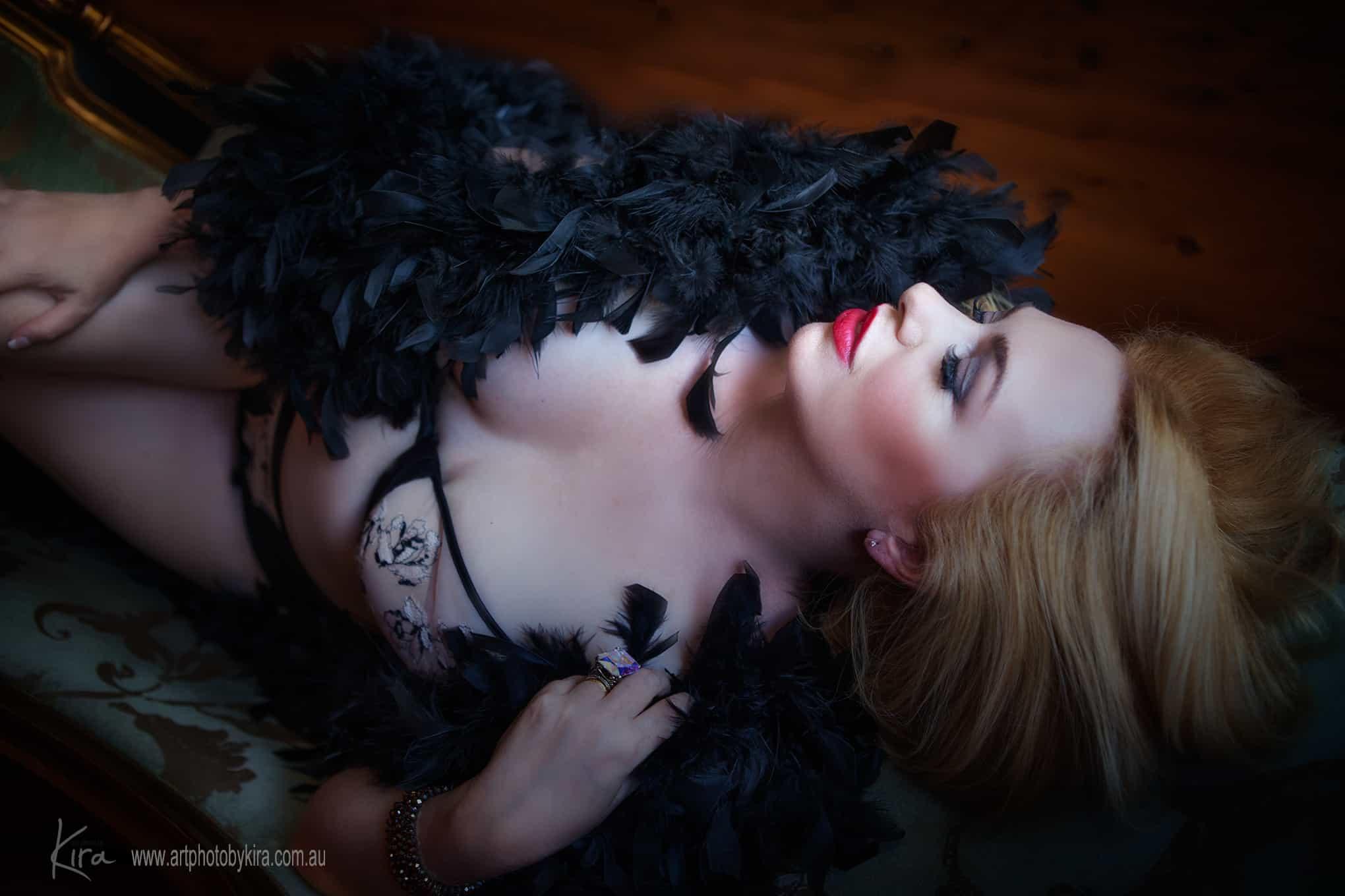 boudoir photographer Sydney St Ives