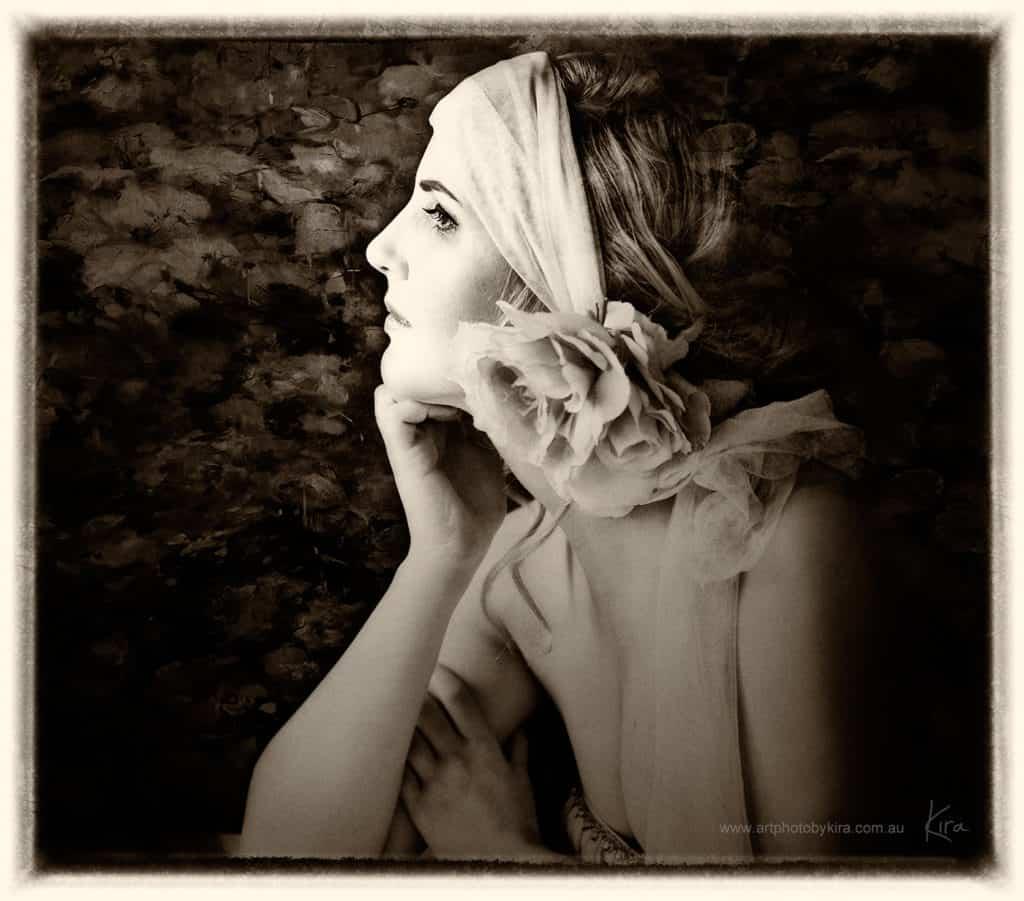 vintage portrait photography