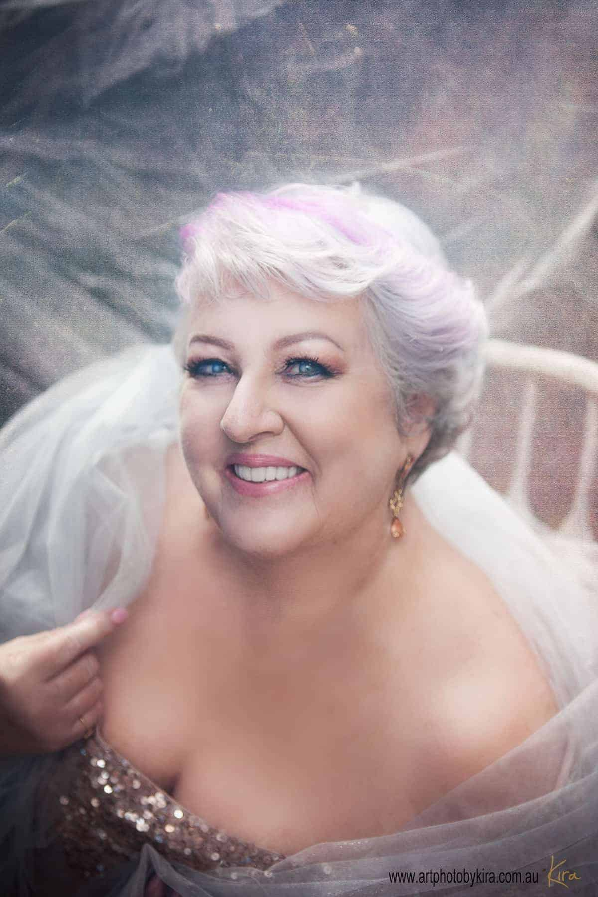 mature glamour portrait photography sydney