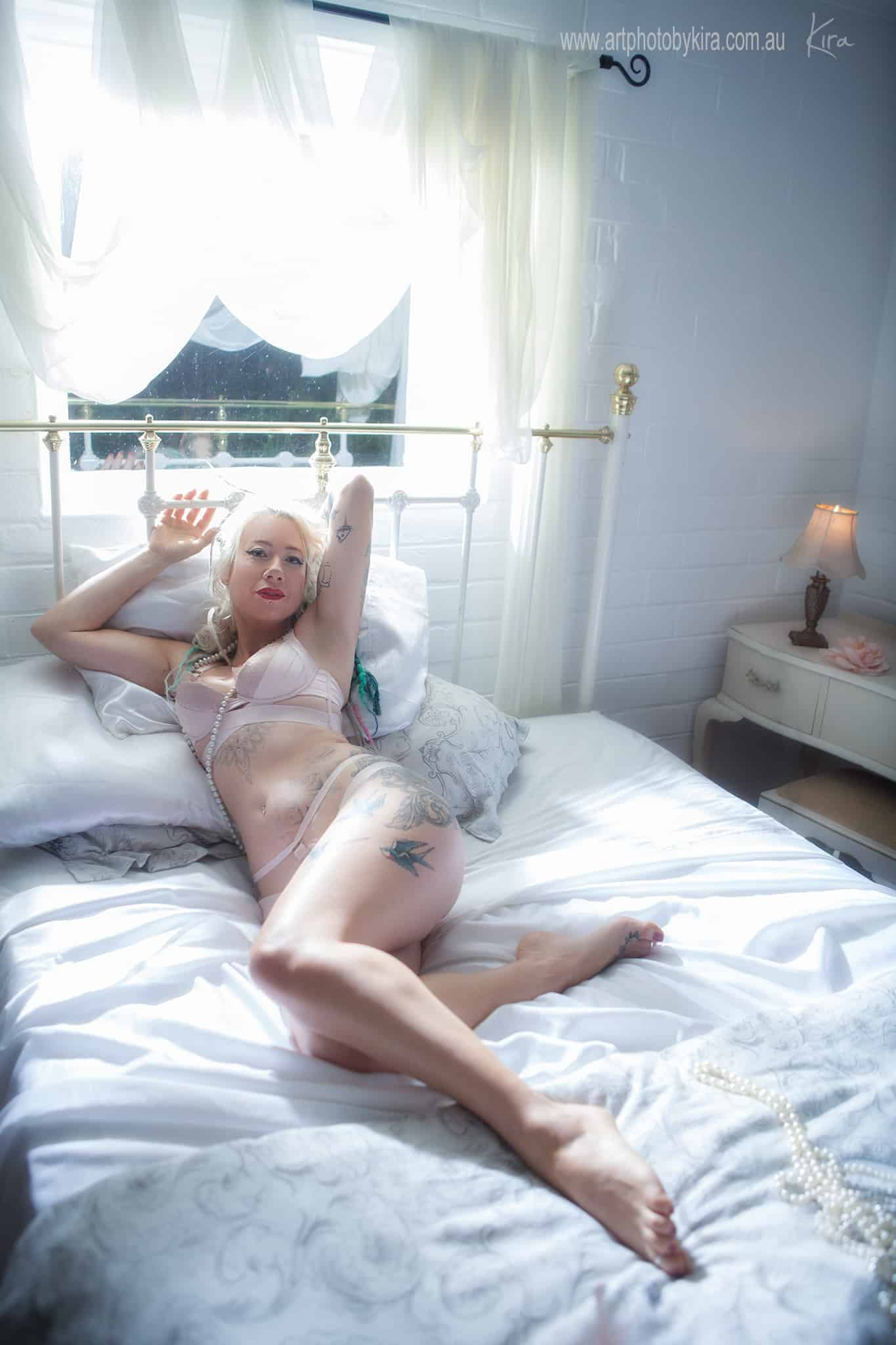 art vintage boudoir photographer North Shore Sydney