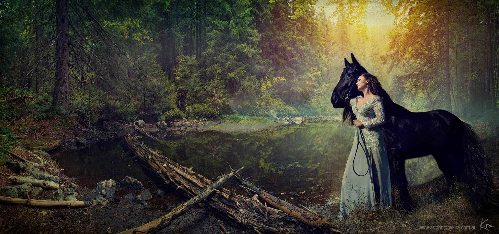 fantasy portrait photography Sydney fine art