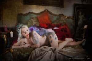 vintage boudoir photographer Sydney