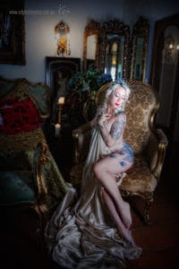 vintage boudoir photography Sydney