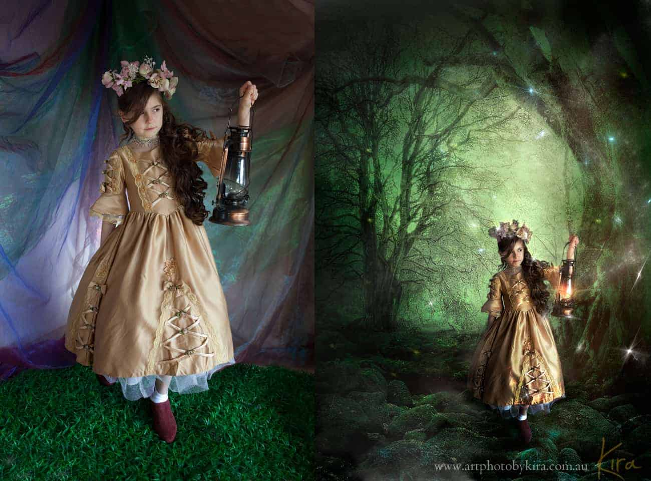 composite fantasy portrait photography