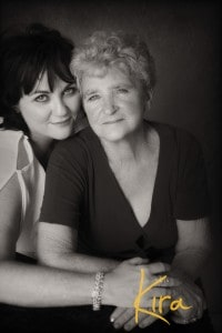 Mother and daughter portrait shoot
