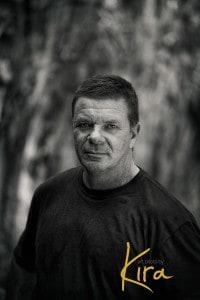 Male portrait taken at workshop