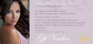 Glamour makeover gift voucher