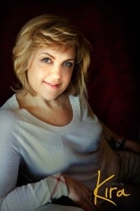 Glamour portrait from glamour photography session at Art Photography by Kira