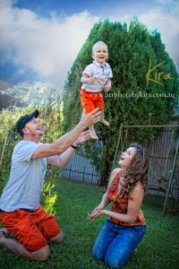 Fun, natural family photography