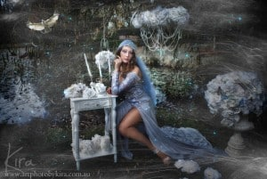 fantasy glamour photography, art photography and bridal photography tutorials