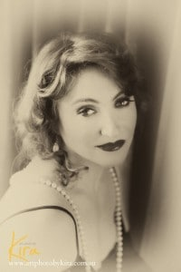 vintage glamour photography and art boudoir photography
