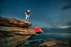 couple glamour photography