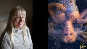 before and after glamour photography Kira