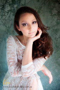 glamour photography session