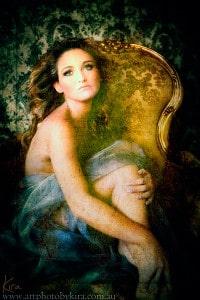 Kira glamour shots boudoir photography