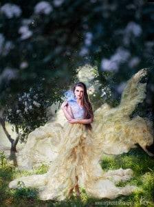 fantasy portrait photography Kira