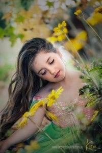 spring enchanted photography kids Kira