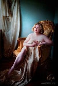 mature boudoir photography Kira