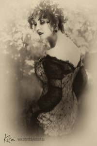 vintage portrait photography glamour Kira