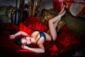 boudoir photography in Sydney Kira