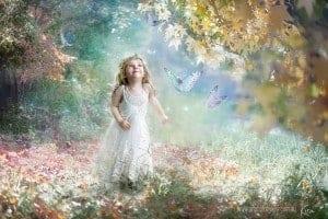 magical child photography Kira