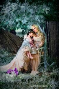 magical family photography Kira