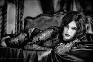sensual boudoir photography Kira