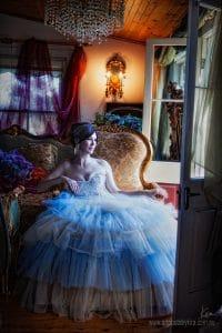 period portrait photography glamour shots
