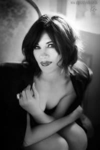 classical boudoir photography Kira