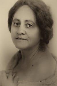Vintage portrait photography cousin Kira