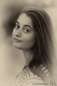 portrait photography teenager Kira