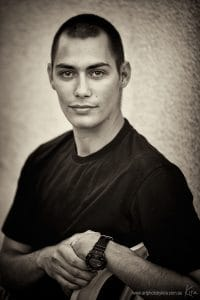 portrait photography young man Kira