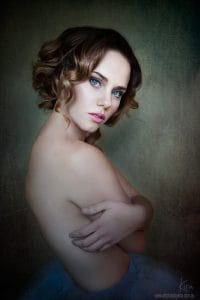 portrait photography glamour photography