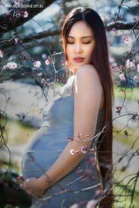 portrait photography pregnancy Kira