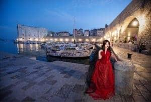 Dubrovnik glamour photography Kira