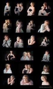 3 generations portrait photography