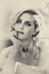 vintage portrait photography Kira