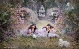 Fantasy kids family photography at Art photo by Kira