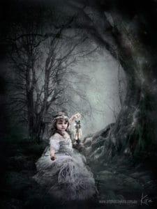 Fantasy family photography kids Kira
